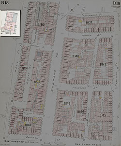 Insurance Plan of London West North-West District Vol. B: sheet 18-2